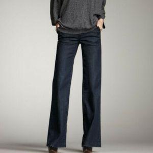 Vince Fonda jean trousers, dark Nella wash